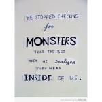 under bed monster